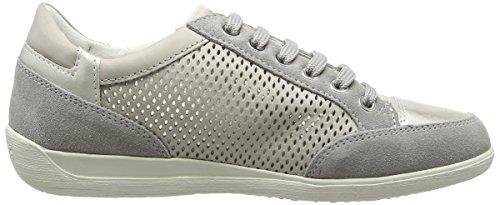 Geox Myria B, Sneakers basses femme Gris - Gris clair