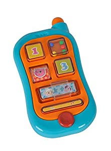 Simba Toys 104015349 ABC - Teléfono de aprendizaje Importado de Alemania