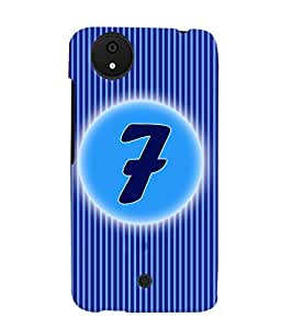 Fuson 3D Printed Numerology Designer back case cover for Micromax Android A1 - D4224