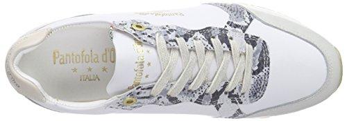 Pantofola d'Oro - Teramo, Scarpe da ginnastica Donna Avorio (Elfenbein (MARSHMELLOW))