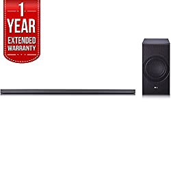 LG SJ8 Sound Bar w/4.1ch High Resolution Audio, WiFi & Bluetooth with 1 Year