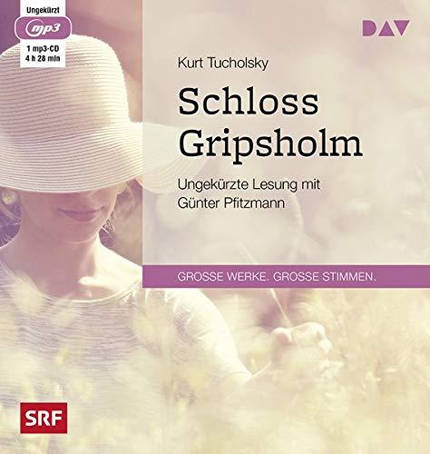 Schloss Gripsholm: Ungekürzte Lesung mit Günter Pfitzmann (1 mp3-CD)