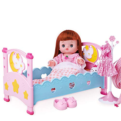 K-Flame Reborn Babypuppe Weiche Realistische Silikon Babypuppe Spielzeug Beste Richtige Schnuller Puppe Beste Weihnachtsgeburtstagsgeschenk + Extra Zubehör - Liebe Ich Höschen