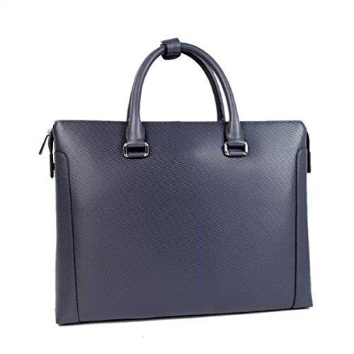 Männer Handtasche Business Pack Aktenkoffer Computer Tasche Blue