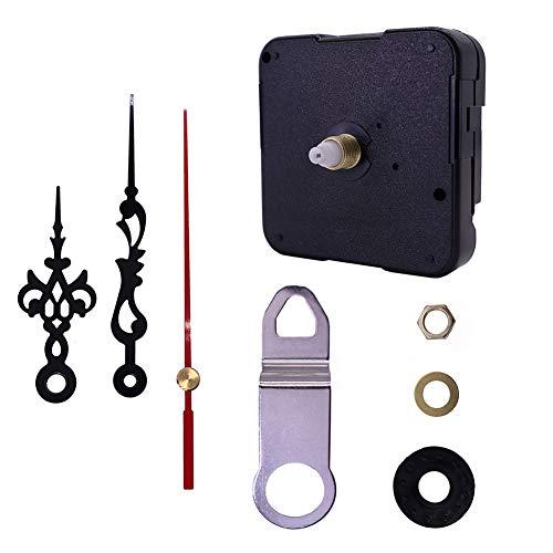 NANANA Uhrwerk Quarzuhr DIY Quarz Wanduhr Bewegungs Mechanismus Reparatur Teile(Die Gesamte Wellenlänge Beträgt 13,5 Mm und Die Gewindehöhe 6 Mm)