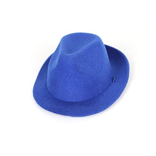 t schmuck hübscher Cowboy Hut zauberhut Gege Hexe Hut lustig Halloween - Hund,Cowboy - Hut,Blau ()