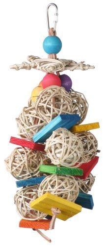 super-bird-creations-10-by-4-inch-starburst-bird-toy-medium-by-super-bird-creations