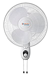 Bajaj Esteem 400mm Wall Fan (White)