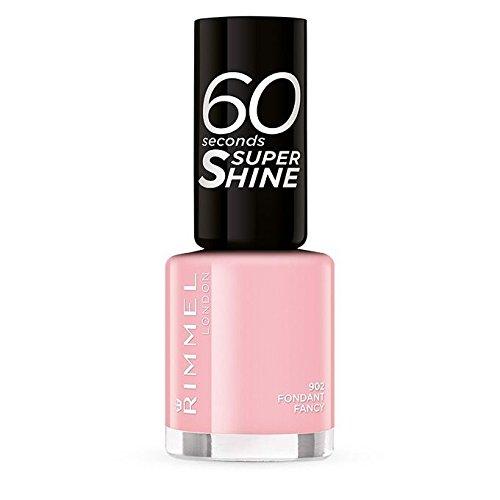 Rimmel 60Seconds Super Shine esmalte color 902Fondant Fancy