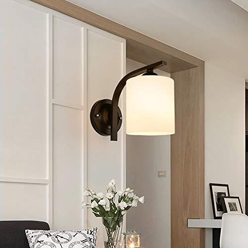 Pn&cc Moderne Art-Kreative Dekorative Wand-Leuchte, Schlafzimmer LED-Wand-Lampen-Einzelnes Hauptbett-Glaswand-Lampen-Dachboden-Landhaus-Wand-Lampe Pn Led