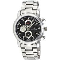 Maxima Attivo Analog Black Dial Men's Watch - 26833CMGI