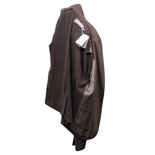 D5112 giacca donna FABIANA FILIPPI wool/cashmere marrone brown jacket woman Marrone