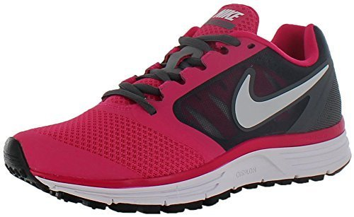 c11f39f614a Nike 580593-005 Womens Zoom Vomero 8 Black And Pink Sports Running ...