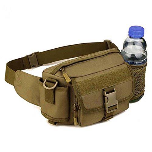 ZHANGRONG- Guidare una bottiglia d'acqua impermeabile tasche Borsa multifunzione Messenger Pacchetto leisure per uomini e donne da viaggio all'aperto (Opzionale a colori) ( Colore : 2 ) 1