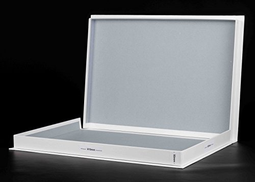 A2 WHITE Archival Box 50mm Deep Acid-Free With 10 A2 Archival Sleeves ACID  FREE (A2)