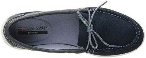 Helly Hansen Faerder Deck, Scarpe da Barca Donna Blu (Navy/dusty Blue/magenta/off White)