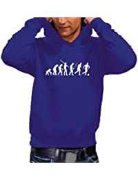 Coole-Fun-T-Shirts Pull à capuche Evolution Football pour homme