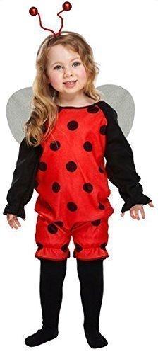 ädchen Hummel Biene Oder Marienkäfer Mini Biest Tierkostüm Outfit Alter 3 Jahre - Marienkäfer (Rot), 3 years, 3 years (Mini Me Kostüm)
