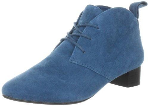 Clarks Lulworth Beach 203509535, Damen Klassische Stiefel, Blau (Teal Suede), EU 37