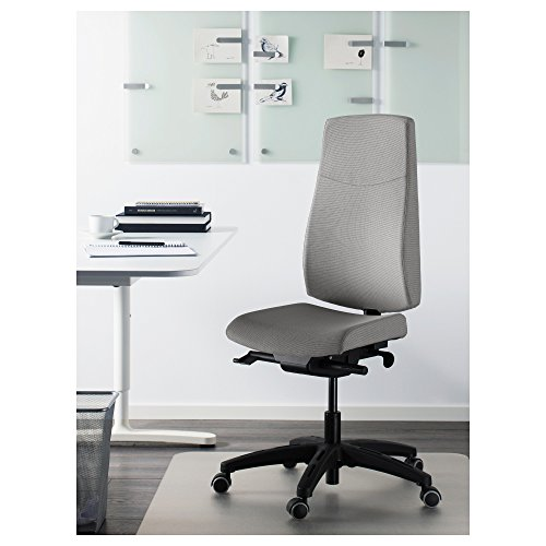 Get IKEA VOLMAR – Swivel chair Unnered grey Special