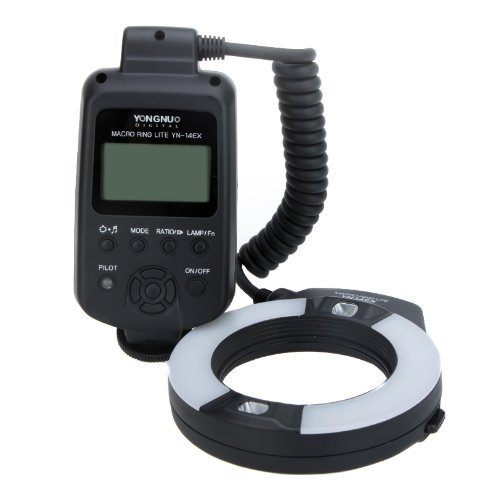Kingzer Yongnuo YN-14EX Makro Ringblitz-Adapter für Canon EOS, verschiedene Größen
