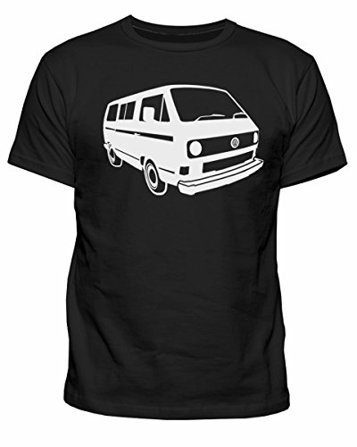 Mens-VW-Campervan-T25-Camper-Retro-camp-Van-Volkswagen-Top-T-shirt-NEW-S-XXL
