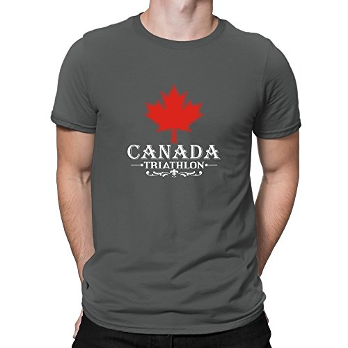 Teeburon Maple Canada Triathlon T-Shirt