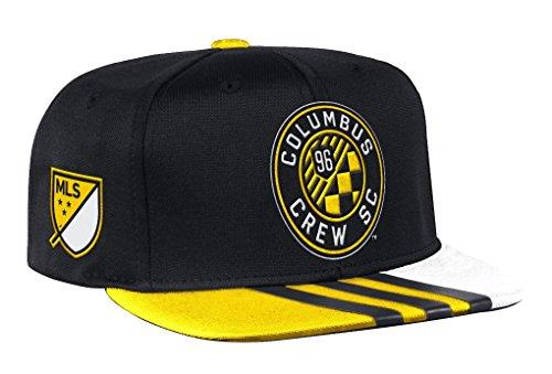 Columbus Crew Adidas MLS 2017 Authentic Team Performance Snap Back Hat Hut (Columbus Crew Hat)