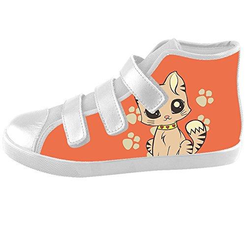 (Custom Cartoon Katze Kids Canvas shoes Schuhe Footwear Sneakers shoes Schuhe)