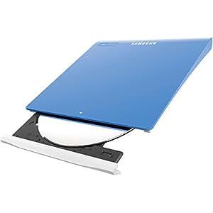 Samsung SE-208GB/RSLDE Graveur DVD Slim Externe USB 2.0 Bleu