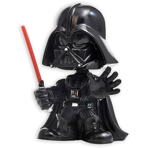 Figura Disney Bobble-Head Star Wars - Darth Vader con Espada de Luz Roja