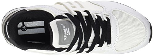 D. Franklin Gvk18000, Sneakers Basses Mixte Adulte Multicolore (Blanco / Gris)