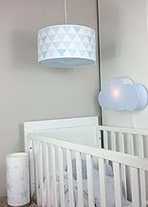 plafonnier plafonnier lampe chambre chambre de b b enfant b b lampe bleu marine. Black Bedroom Furniture Sets. Home Design Ideas