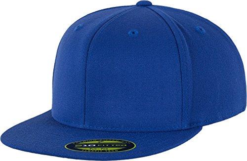 Erwachsene 6-panel-cap (Flexfit Erwachsene Mütze Premium 210 Fitted, blau (royal), L/XL)