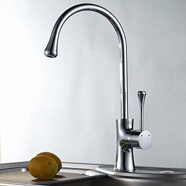 Preisvergleich Produktbild Wasserhahn-Europäis chenein fache Arthei ßesundkaltes Wasser Messing Bad Küchenarmatur