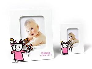 Disok Portafotos Toy poliresina niña, XL, Multicolor (6511-XL)
