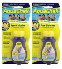 AquaChek 2x Wasserprüfer für Pools und Spas -