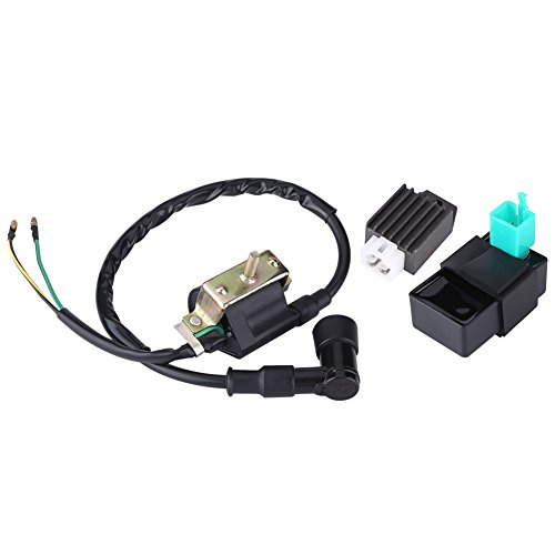 Sincere New Ignition Coil Cdi Regulator Rectifier Relay Kit For 50 70 90 110cc Chinese Atv Atv Parts & Accessories