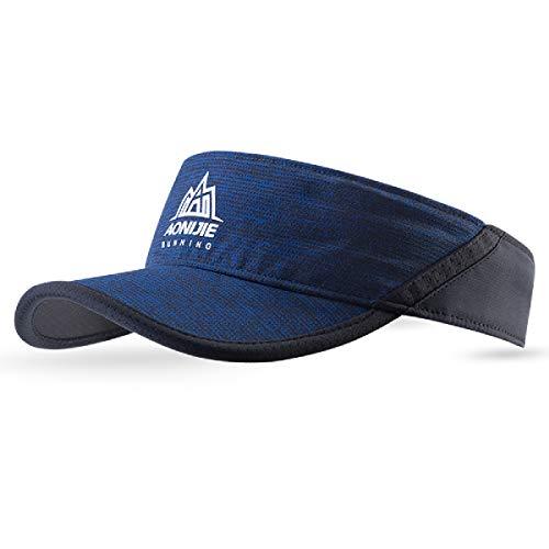 TRIWONDER Schirmmütze Sonnenhut Sonnenblenden Mütze Tennis/Running/Golf/Outdoor/Sport Sun Visor Cap für Damen/Herren (Navy blau)