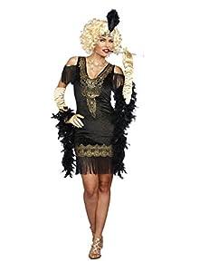 DreamGirl-10700Swanky Flapper Costume, Pequeño