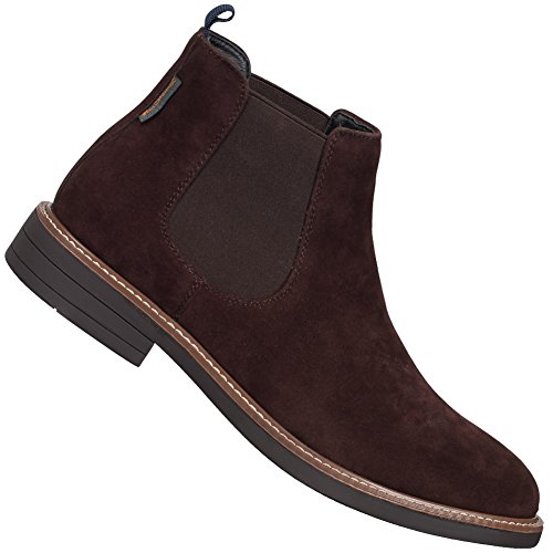 Ben Sherman Knutsford Men's Chelsea Boot (BEN3162) (Choc Suede) (UK 8 / EU 42 / US 9) (Herren Sherman Ben Schuhe)