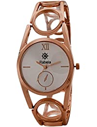 Rabela ® Women's Analogue off-White Dial Watch RAB-860