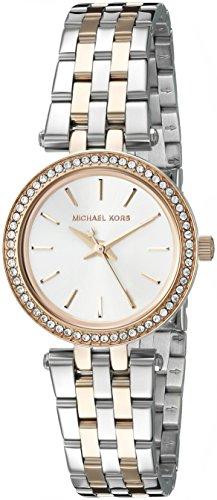 Uhr Michael Kors Petite Darci Mk3298 Damen Silber (Michael Petites Kors Michael)
