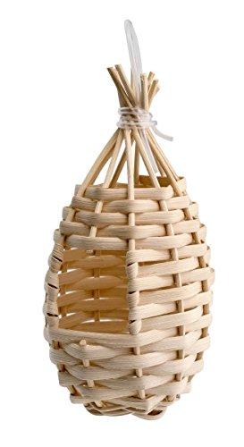 Pet Ting Premium Finch Weidenkorb Nest, Finch Nest Box (Box Finch Nest)