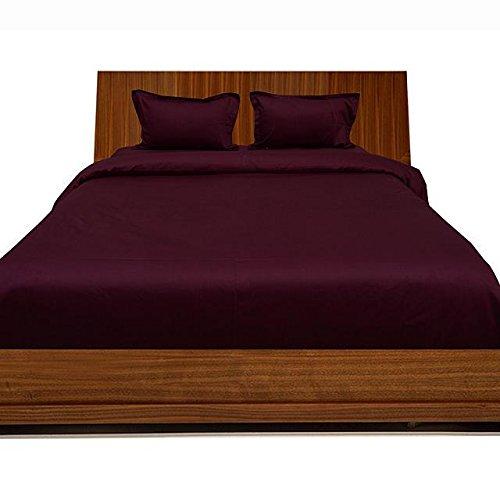 Luxuriöse Ägyptische Baumwolle mit Fadendichte 300 4pc Plansatz-&, 3-teiliges Set mit Bettdecke, Rock für 1 Weinflasche, 300TC, 100% Baumwolle - 300tc-duvet-set