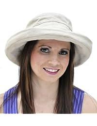 Ladies Adjustable Cotton Sun Hat (A120) Holiday/Beach