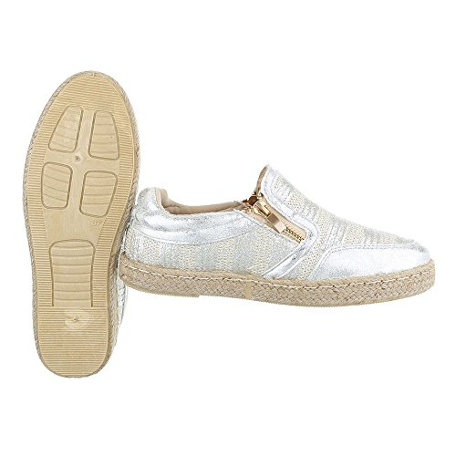 Silber Pantofole design Ital Donna Dintérieur qfO48