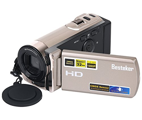 Camera Videocamere, Besteker Portatili Digital Video Camcorder FHD max. 16.0