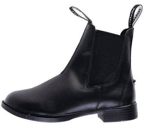 William Hunter Equestrian Toggi Brampton Kindes Pull auf Zugstiefelette in schwarz, Größe: 10(EU 29)
