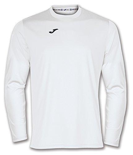 Joma 100092.200 - Camiseta de equipación de manga larga para hombre, color blanco, talla S